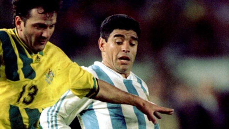 Futbollisti shqiptar që u përball dy herë me Diego Maradonan