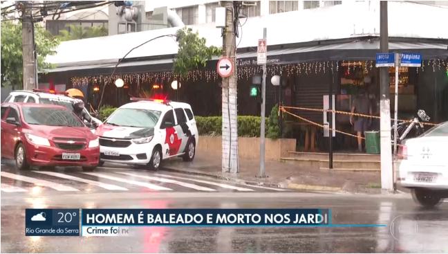 Fotot/ Ekzekutimi i shqiptarit në Brazil shkakton panik në qendër të  qytetit - Top Channel