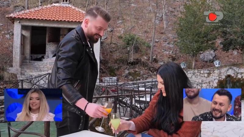 Blerimi lë Ledianën në takim dhe largohet (Fotot) - Top Channel