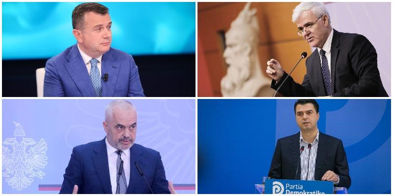 Cilët janë 10 politikanët më të preferuar të shqiptarëve, kryeson Balla,  ndiqet nga Xhafaj. Ja ku renditet Rama dhe Basha - Top Channel