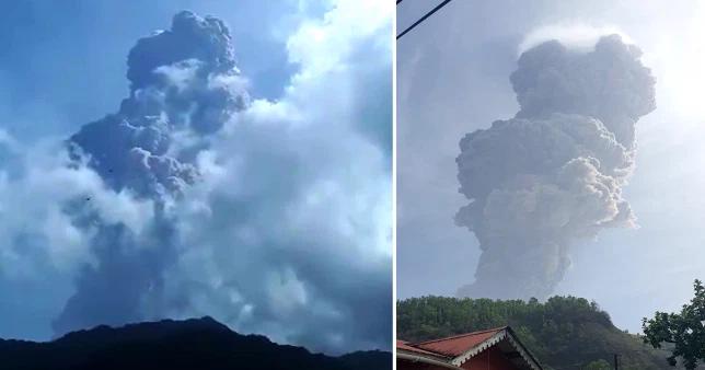 Shpërthen vullkani La Soufriere në Karaibe, me hi e tym deri në 7 km lartësi (fotot)